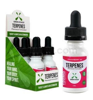 Green Roads CBD Terpenes Oil 100mg 15ml Strawberry 6PC/BX