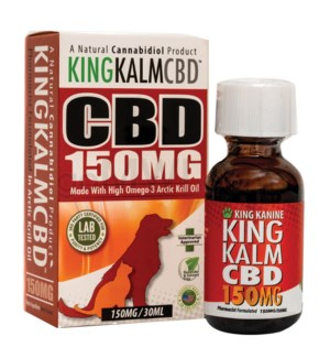 Green Roads CBD King Kalm Pets 150mg 30ml