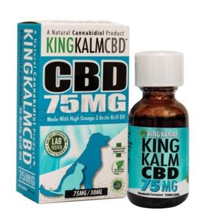 Green Roads CBD King Kalm Pets 75mg 30ml