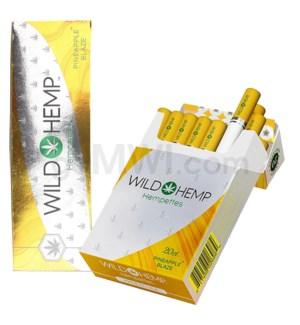 Wild Hemp Hempettes Cigarettes 10CT/20PK  - Pineapple Blaze