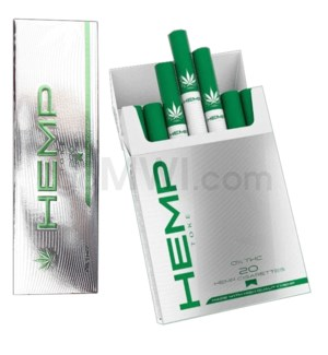 Hemp Toke Hemp Cigarettes 10ct/20pk