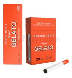 Sherbinskis Gelato Hemp Cigarettes 10CT/20PK - Original