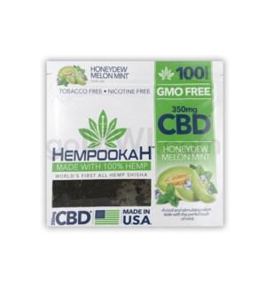 Hempookah 100% Hemp Infused Shisha 100g - Honey Dew 12PC/BX