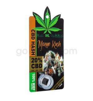 IHL CBD Sativa Black Hash 1G - Mango Kush