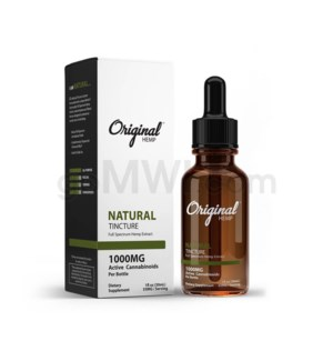 Original Hemp CBD 30ml 1000mg Full Spectrum - Natural