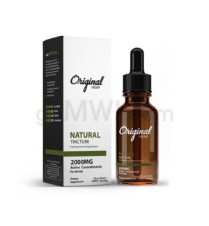 Original Hemp CBD 30ml 2000mg Full Spectrum - Natural