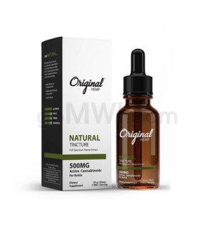 Original Hemp CBD 30ml 500mg Full Spectrum - Natural