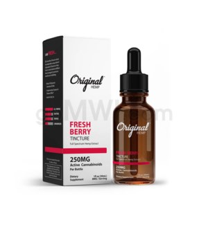 Original Hemp CBD 30ml 250mg Full Spectrum - Fresh Berry