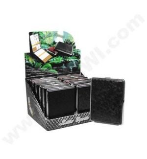 DISC Cigarette Case 100'S Leather 12/12/144@
