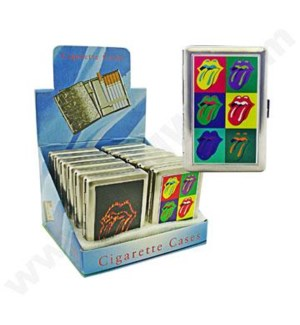 Cigarette Case Rolling Stones 12PC/BX