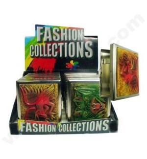 DISC Fashion Cigarette Case 12PC/BX Polystone Fantasy Asst