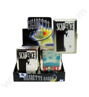 DISC Cigarette Case SF 12PC/BX