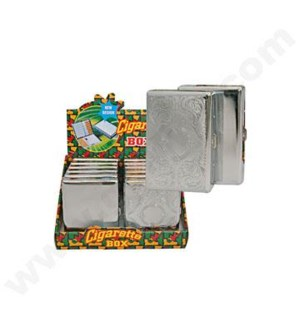 DISC Cigarette case w/assorted engraving design 12/12/144 @
