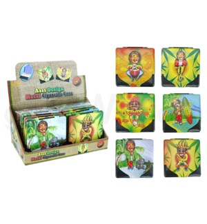 Cigarette Case Rasta Kings 12PC/BX.