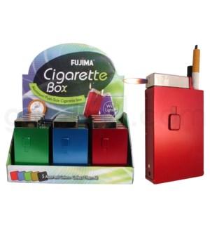 DISC Cigarette case w/lighter for kings 12PC/BX