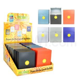 DISC Cigarette Case Auto Open Cig Pack King Size 12PC/BX