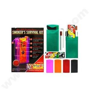 DISC  Smoker's Survival Kit 12PC/BX