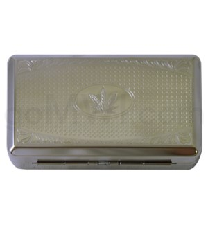 Tobacco case leaf design 12PC/BX