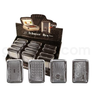 Tobacco case & Paper Holder 12PC/BX.