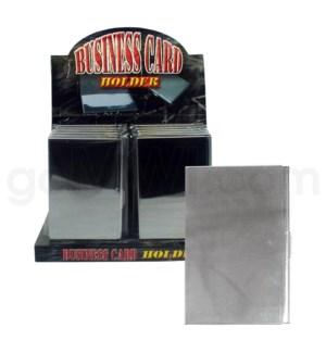 DISC Metal Business card holder 12/12/144