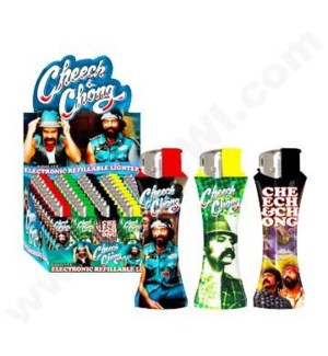 DISC Cheech and Chong Elec. Curve Lighter 50CT/BX 10/c