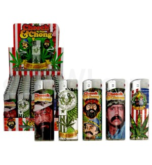 DISC Cheech and Chong Raving Lighters Series B 50CT/BX 20/cs