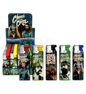 DISC Cheech and Chong Elec. Torch Lighter Series A 50CT/BX