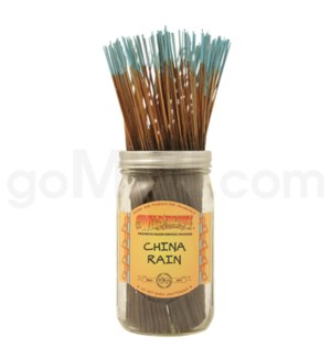 Wildberry Incense China Rain 100/ct