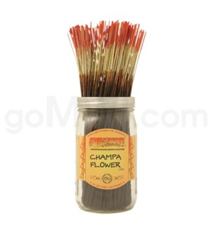 Wildberry Incense Champa Flower 100/ct