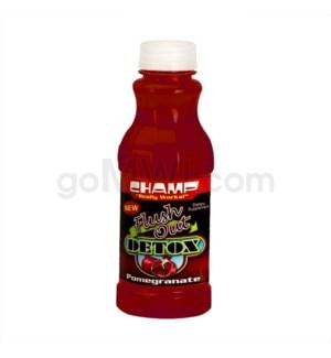 DISC Champ Flushout Pomegranate 16oz 12/BX