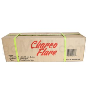 "Charco Flare 1"" 25mm Lounge Cubes 10kg 72ct"