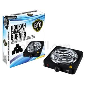 BYO Hookah Charcoal Burner 1000W Hot Plate