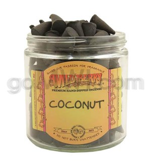 DISC Wildberry Incense Coconut Cones