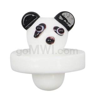 Quartz Directional Flow Carb Cap - Panda