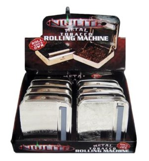 DISC Nulite Metal Tobacco Rolling Machine 8ct/20bx