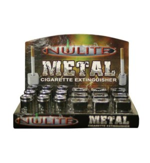 DISC Nulite Metal Cigarette Snuffer 18CT/BX