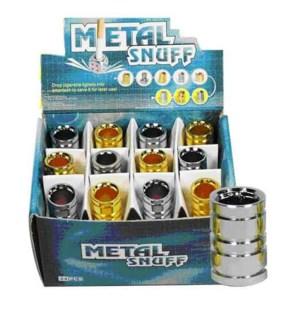 DISC Metalsnuff Cigarette Snuffer Round Design 24CT/BX