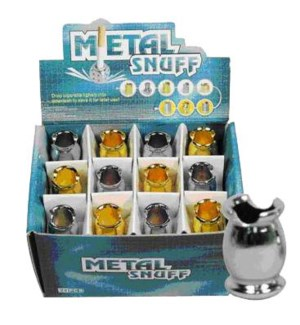 DISC Metalsnuff Cigarette Snuffer Oval Design 24CT/BX