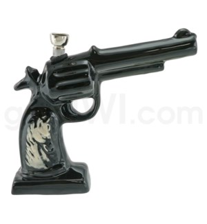 Ceramic WP Gun w/Horse Image-Black