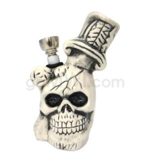"Ceramic WP 5"" Skul Head w/Dagger"