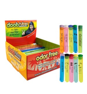 Doob Tubes Funny Sayings Small 25ct/bx