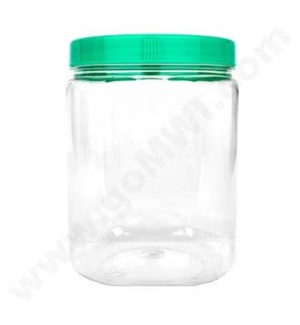 Plastic Display Jar Large