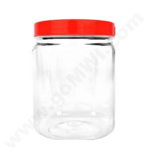 Plastic Display Jar Medium