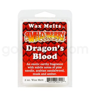 Wildberry Incense Dragon's Blood Wax Melt