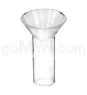 "Glass Downstem 12mm X 1"" Regular Reducer"