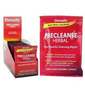 Detoxify PreCleanse Capsules 24 pcs/box