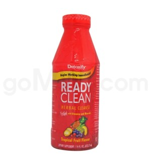 Detoxify Ready Clean Tropical Fruit 16oz