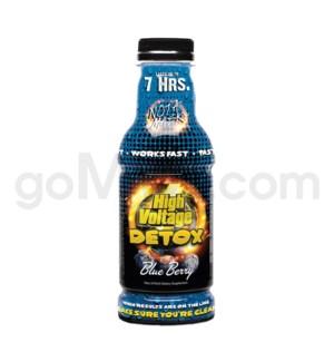 High Voltage 7-Hour Detox Drink 16oz - Blueberry