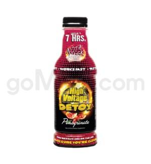 High Voltage 7-Hour Detox Drink 16oz - Pomegranate