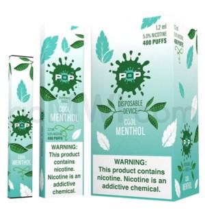 Pop Disposable Nic-Salt E-Juice 1.2ml 5% - Cool Menthol